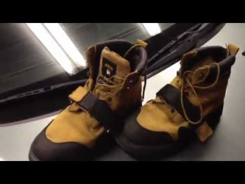 Cougar Paws Roofing Boots   YouTube