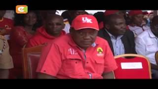 Uhuru angali anaongoza katika kinyang'anyiro cha urais