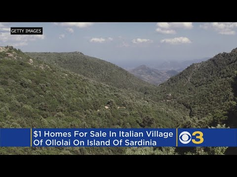 Italian Town Ollolai Sells $1 Homes To Lure New Residents