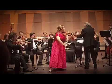 "Ellinor D'Melon (16) Plays ""I Palpiti"" by Paganini"
