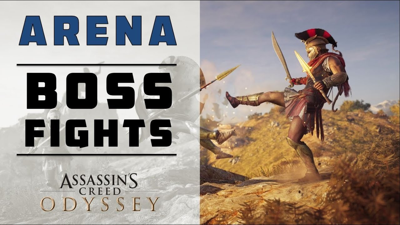 Level 50 Every Arena Boss Fight In Pephka Assassin S Creed