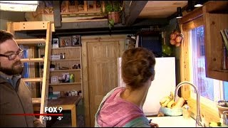 Family Downsizes To Tiny 207 Sq Ft Home
