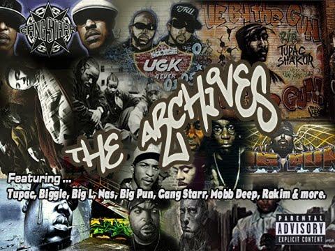 [Old School Hip Hop/Rap Mix] Tupac, Biggie, Big L, Big Pun & More - The Archives (Part 1 of 3)