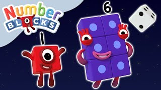 Numberblocks - Number Gueṡsing Game | Learn to Count