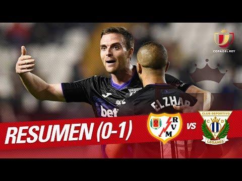 Resumen de Rayo Vallecano vs CD Leganés (0-1)