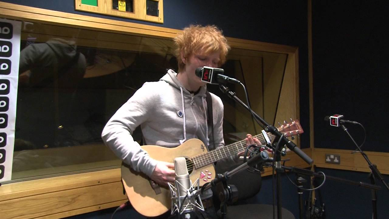 Ed Sheeran Give Me Love Live Session Youtube