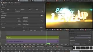 Видео-редактор Blender 17 - Сияние Glow