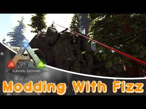 ARK: Survival Evolved MOD | Zipline System Mod!!!