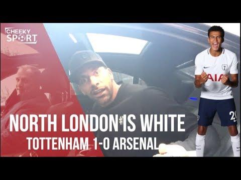 NORTH LONDON IS WHITE   VERTONGHEN AND RIO FERDINAND AGREE   TOTTENHAM 1-0 ARSENAL