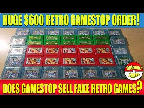 huge 600 retro gamestop
