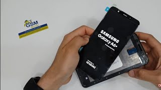 Samsung A6+ A6  Lcd Screen Repair Replacement - GSM GUIDE