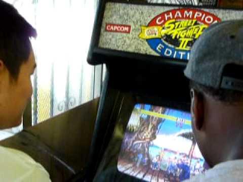 Phil Davis Plays Street Fighter in Compton