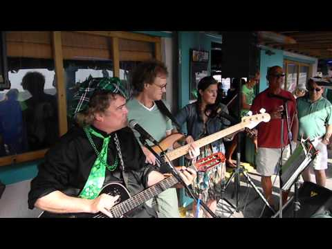 St Paddy's Day Celebration at Woody's Waterside St Pete Beach FL 2014