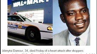 Walmart Worker Dies Black Friday Fight Stampede Valley Stream Long Island New York
