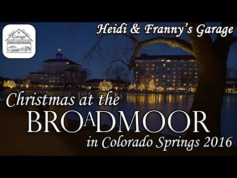 Christmas at the Broadmoor (in our Porsche Turbo 911)