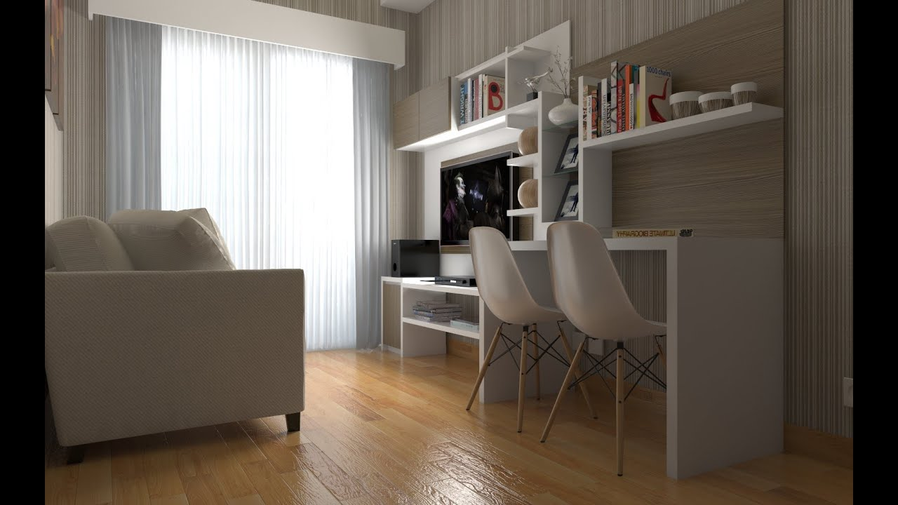 Tutorial Vray Sketchup #2 Apartement Interior - YouTube