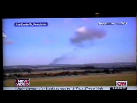 9-11 New Video Released Flight 93 Shanksville PA Crash Explosion 9-4-11