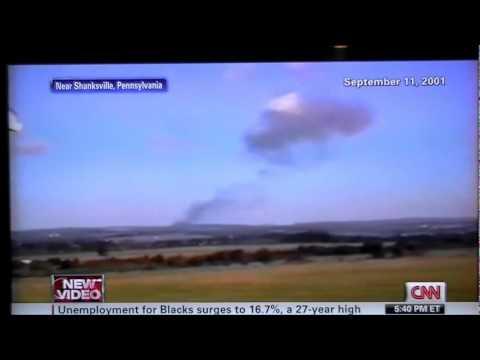 9-11 New Video Released Flight 93 Shanksville PA Crash Explosion 9-4-11