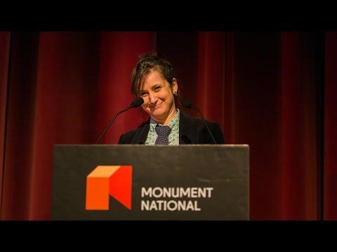 Hannah Moscovitch, 2015 Gascon-Thomas Award Laureate