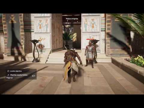 Assassin's Creed Origins - Papyrus Puzzle: Palace of Apries (Location&Solution)