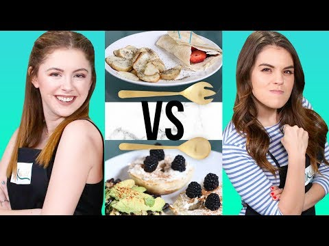 NUTELLA BREAKFAST CHALLENGE? | COOK THAT W/ Jill Cimorelli & Carrie Rad