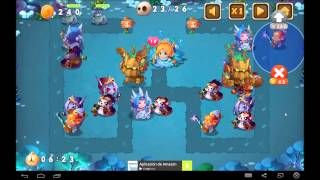 Ancient Heroes Defense android game first look gameplay español
