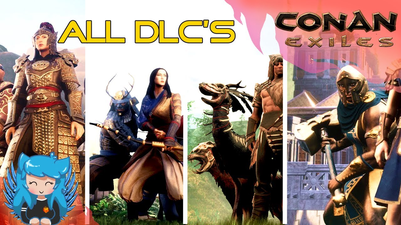ALL DLC CONTENT SHOWCASE - COMPARISON VIDEO | Conan Exiles |