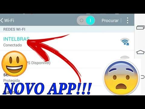 Lancou Novo App Para Descobrir Senha De Wifi Do Vizinho 2017