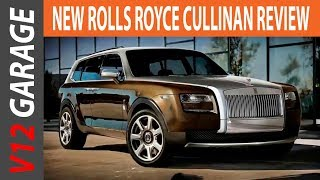 2019 Rolls Royce Cullinan SUV Interior, Price And Review