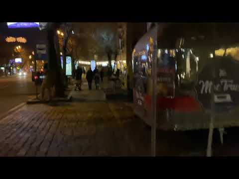 Armenia Yerevan Kentron Cascade 02.01.2020 / Армения Ереван Центр Каскад