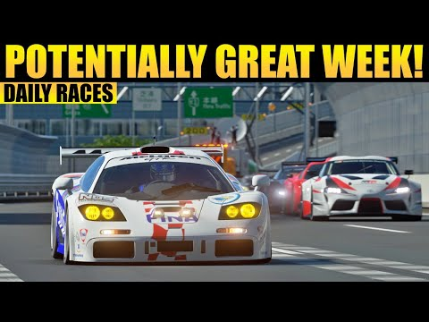 GT Sport Daily Races: This Could Be A GREAT Week!