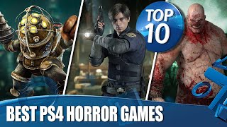 Top 10 Best Horror Games On PS4