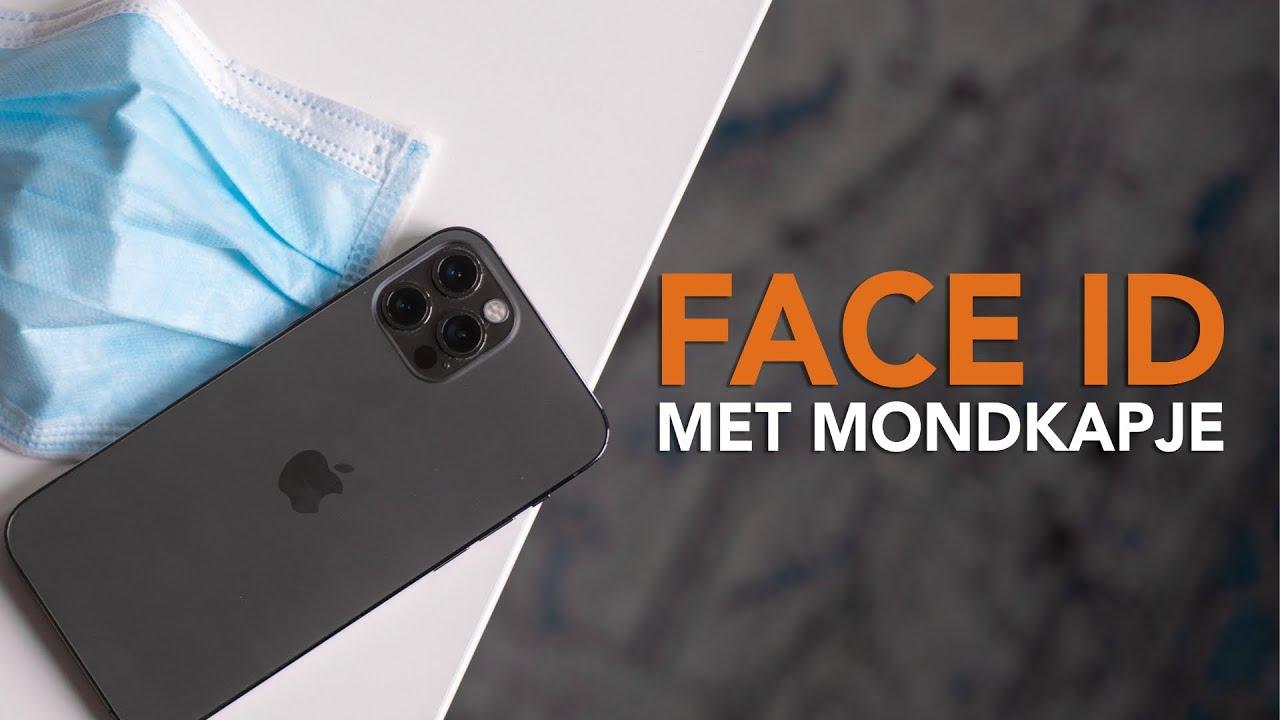 Zo gebruik je Face ID met een mondkapje (iOS 14.5)
