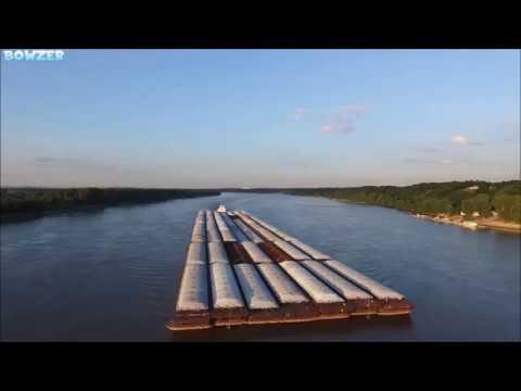 Towboat GINNY STONE Pushing 49 Barges!