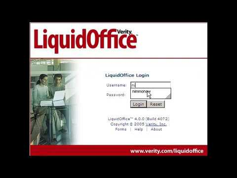 02 How to Log into Liquid Office
