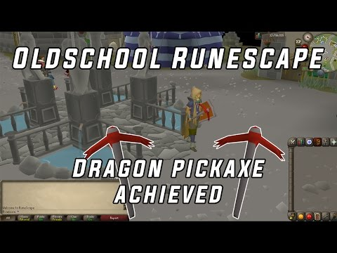 (OSRS) Dragon Pickaxe Achieved!