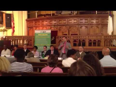 #CD7 Zead Ramadan opening: stop and frisk, population density of upper Manhattan, environment