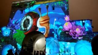 3D световое шоу у Казанского Кремля. Часть 7