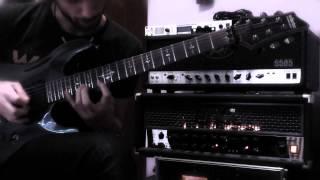 Claudio Pietronik - guitar solo composed over Untouchable PART 1 (Anathema)
