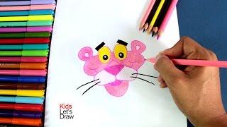 Cómo dibujar a la Pantera Rosa | How to draw The Pink Panther