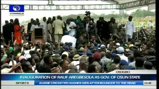 Inauguration Of Rauf Aregbesola As Governor Of Osun State Part 9
