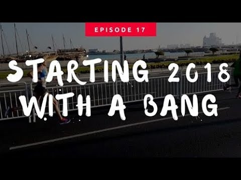 STARTING 2018 WITH A BANG!! | 7 DAYS IN DOHA & 10K RACE | Ep17