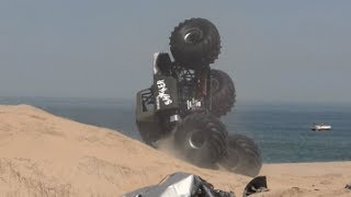 Shaker Monster Truck Freestyle:  Mothers day at Monsters on the Beach
