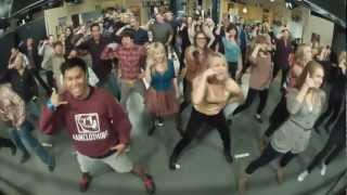 The Big Bang Theory Flash mob! (Full version compilation)