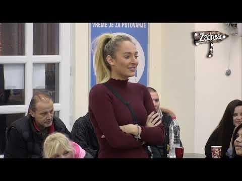 Zadruga 2 - Zadrugari komentarišu vezu Lune i Marka - 18.01.2019.