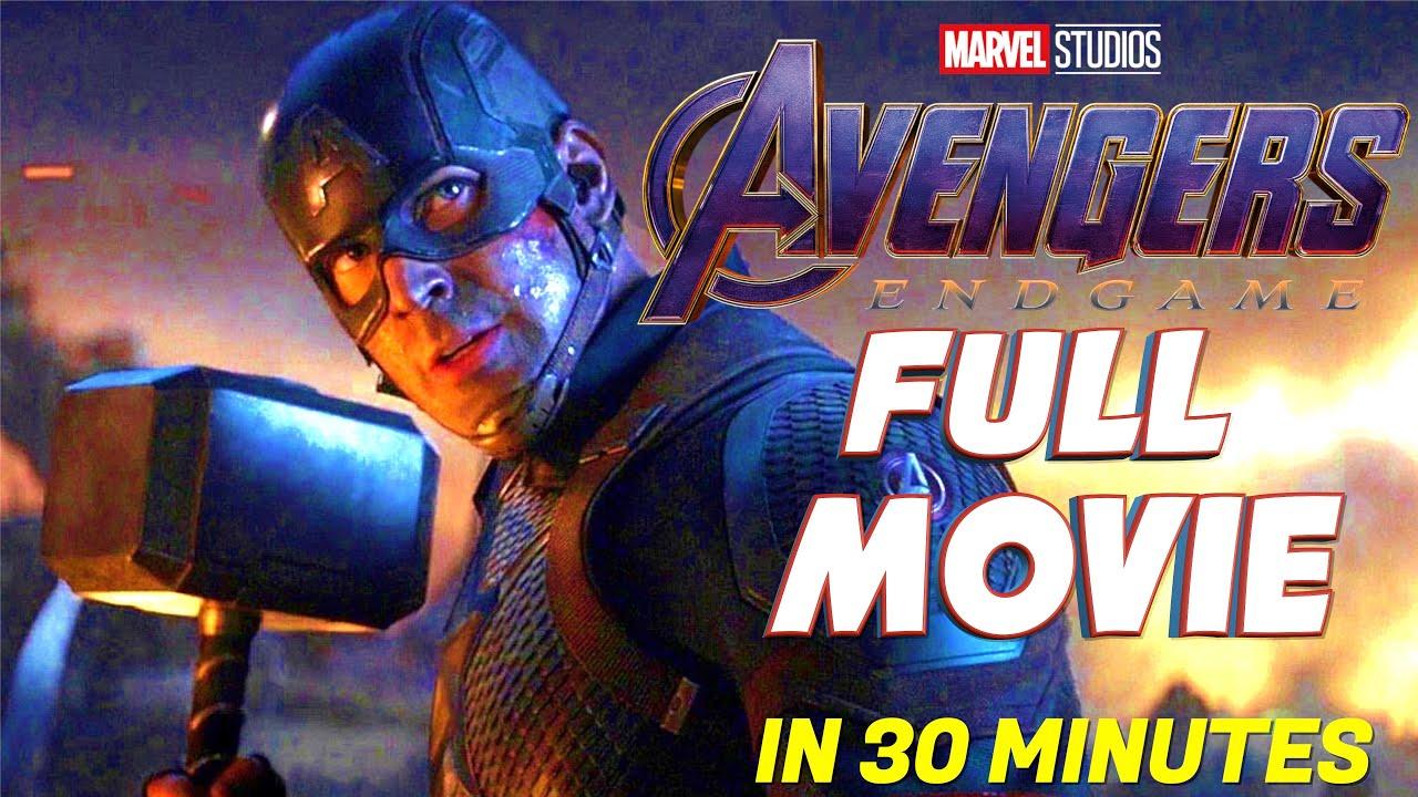 Avengers Endgame | Full Avengers Endgame Movie in 30 minutes | Superhero Movie