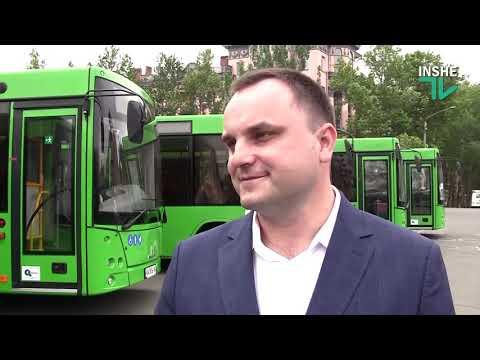 Презентация белорусских автобусов МАЗ 206