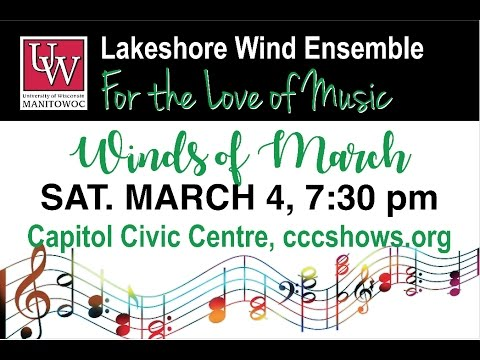 """Lakeshore Wind Ensemble """"Winds of March"""" 2017"""