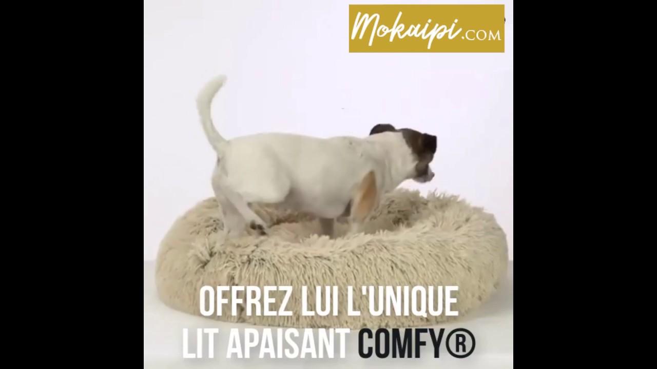 Lit apaisant COMFY pour chien ou chat : le Pilou Pillow