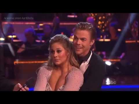 Shawn Johnson & Derek - Supersize Freestyle - DWTS (Allstars Finals)